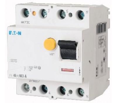 Устройство защитного отключения (УЗО) EATON HNC 4P 40A 30mA