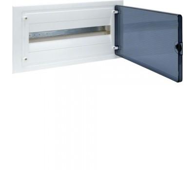 VF122TD Щит внутренний  22 места, прозрачная дверца (257х498х72), Class II, IP 40 // Hager - Golf (Цвет - Белый)