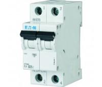автоматический выключатель EATON HL-C63/2 2P 63A тип С