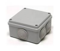 Коробка распаячная открытой установки 67050 100*100*50 серый